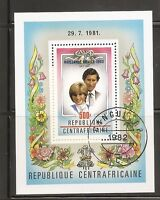 Central African Republic. SC # 533 Birth Of prince williams. Souvenir S. MNH
