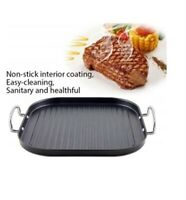 Grill Dietetica Square Non-Stick BBQ Grill Pan Griddle Frying Pan Non Stick