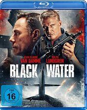BLACK WATER - BLU RAY Region  B/UK - Jean Claude Van Damme, Dolph Lundgren - Pre