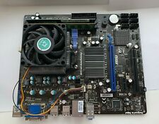 MSI 760GM-P23 Motherboard Socket AM3+ + 4GB DDR3 & AMD FX 4100 Quad CPU Bundle