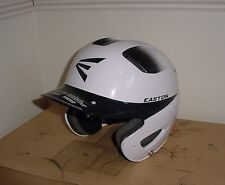 New Easton Natural Two Tone Batting Helmet White and Black Jr 6 3/8 - 7 1/8