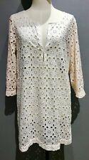 J Crew Broderie Anglaise Kaftan Style Dress RRP £135 Size: EX/SM BNWOT