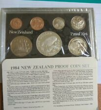1984 New Zealand Annual Proof Coin Set
