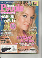 TEEN PEOPLE LINDSAY LOHAN HOT POSTERS CELEB SIBLINGS KIDMAN NAIMA METCALFE DUFF