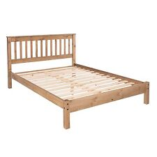Quality Solid Pine 4FT 6 Double Wooden Bed Corona Mexican PIne Furniture