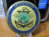 United States Navy Fourth Fleet CPO Command Master Chief Challenge Coin #6280