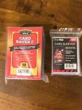 Brand New 20 Card Saver 1 + 20 Ultra Pro Penny Sleeves - Free Ship