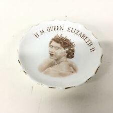 E R H.M. Queen Elizabeth Fine English Bone China Made in England #403