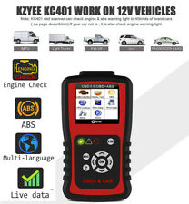 OBD2 Scanner Car Engine ABS Anti-lock Brake System Check Diagnostic Scan Tool
