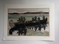"""Billy Childish """"Hudson bay fur Packers"""" coverted number one fine art print 1/200"""