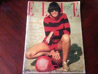 Rivista Magazine Elle France 12 Juillet 1976