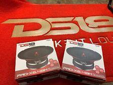 DS18 2x PRO-X6.4BM Pro Series 6.5in. Midrange Loudspeaker (250W RMS EACH )