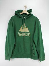 BURTON Hoodie Pullover Kapuzenpullover Herren Männer Grün Gr. M