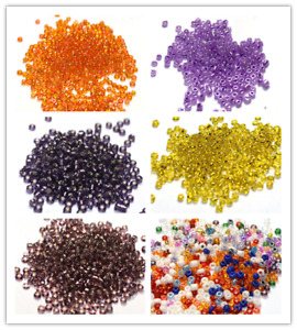 4000pcs 2mm Jewelry Making DIY Loose Czech Glass Round Spacer Beads
