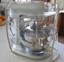 CLEAR MIXER COVER w/TAN Trim fits KitchenAid Bowl-Lift Stand Mixer 5 - 6Qt.