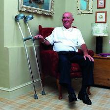 CareCo Aluminium Elbow Crutches.