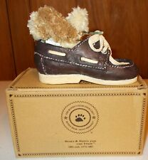 Skippy All Tied Up #641005 Boyd's Collection Original Resin Shoe with Bear