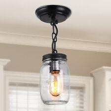LNC 1-light Pendant Lighting Glass Mason Jar Ceiling Lights Pendant Lights