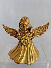 Vintage Brass Angel Bell