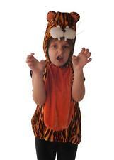 Tiger Costume ~ Tabard + head ~ Circus ~ Zoo ~ Safari  ~ Book Week ~ age 5 - 6