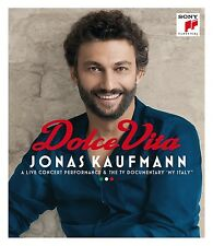 Dolce Vita-Kaufmann, J./Orch. teatro MASSIMO PALERMO BLU-RAY NUOVO