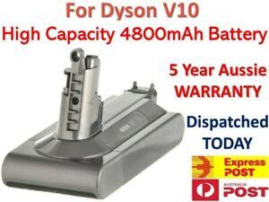 4800mAh High Capacity Battery For DYSON V10 Li-ION - SuitV10 All Versions - OZ