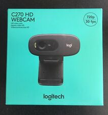 NEW IN HAND - Logitech C270 HD WebCam, Video Calls, Mac/PC - FREE SHIPPING NOW!