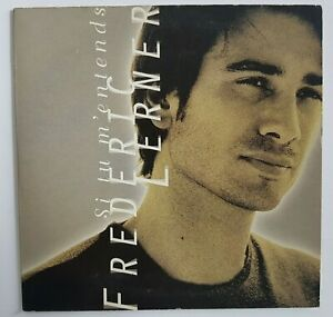 FREDERIC LERNER (titre frère Goldman) : SI TU M'ENTENDS ╚ CD Single Promo  ╝