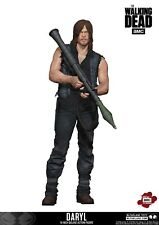 "Walking Dead Daryl Dixon with Rocket Launcher 10"" Deluxe Figure McFarlane"