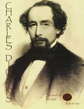 Charles Dickens- Strand of his Hair on a Limited Edition Relic Card