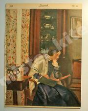 Münchner JUGEND 1909 Nr.46 Böcklin / Reiser / Rieth