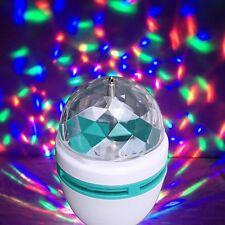 E27 RGB LED Party Disco Licht Glühlampe Glühbirne Lichteffekt Super Partyefekt
