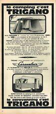 I- Publicité Advertising 1964 Camping caravane tente Trigano
