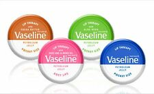 Vaseline Lip Balm Therapy 20g Petroleum Jelly Tinted Heal Dry Chapped Lips Gift All 4 Tubs