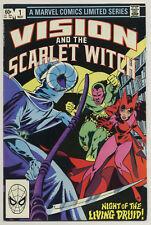 Vision & the Scarlet Witch #1-4 Limited Series Wonder Man Magneto Quicksilver v