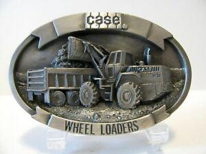 *Case Construction W11B W36 W14B W20C W30 Wheel Loader & Truck 1988 Belt Buckle