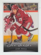 (64008) 2011-12 UPPER DECK CANVAS YOUNG GUNS ANDY MIELE #C217