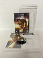 Tomb Raider Legend Nintendo Gamecube Complete CIB Authentic W PROTECTIVE COVERS