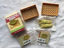 American Girl Food Set Molly's PB & J Sandwich+ Saige's Tortilla Chips & Tamales