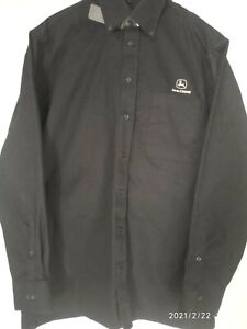 Men's Shirt John Deere long sleeves black size L