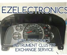 2010 GMC SAVANA CHEVY EXPRESS INSTRUMENT CLUSTER 2500 3500 EXCHANGE 25874109