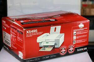 Lexmark X5495 Multifunction Color Inkjet Printer w/ Copier New, Open Box
