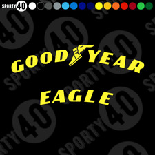 GoodYear EAGLE F1 Super Sport Sticker CURVED Vinyl Decal Rally Race 2122-0420