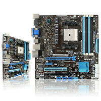 ASUS F1A75-M/CM1740-8/DP-MB motherboard SOCKET FM1 AMD A75 SATA 6Gb/s USB3.0