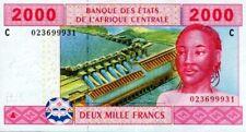 East African States - Tchad billet neuf de 2000 francs pick 608 UNC