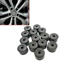 20x Wheel Nut Bolt Tire Screw Cover Caps 17mm For Golf VW MK4 Passat Audi Beetle