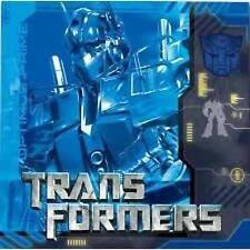 Transformers Movie 2 Lunch Dinner Napkins 16 Per Package Birthday Party Supplies