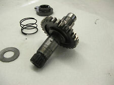 1988 Suzuki RM250 Kick Start Shaft Assembly gear spring washer spacer shaft