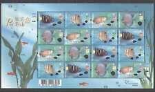 Hong Kong 2003 Pet Fish/Marine/Animals 16v sht (s5073)