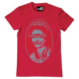 Technics / DMC T-Shirt - Dieu Rave The Queen (Rouge) Taille M-XXL A17R Neuf